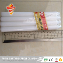 6pcs Shrink Package White Candle to Africa
