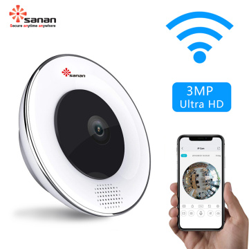 WiFi 3MP Panoramic Surveillance CCTV Camera