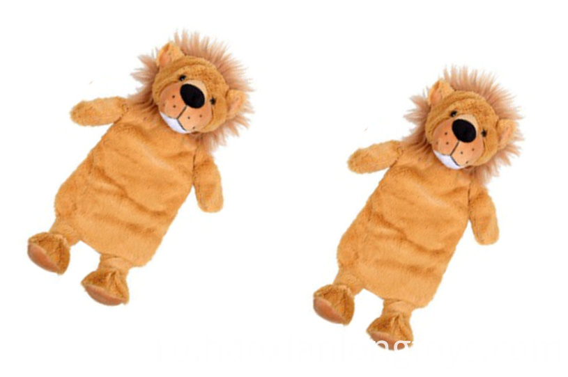 Soft lion pillow plush toy