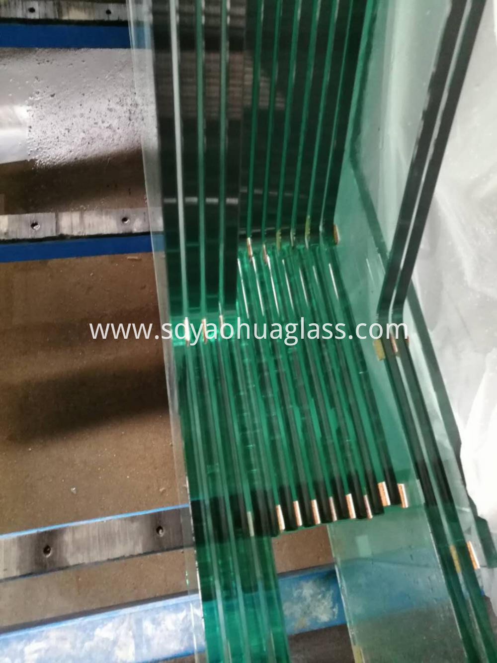 Tempered Glass Partition