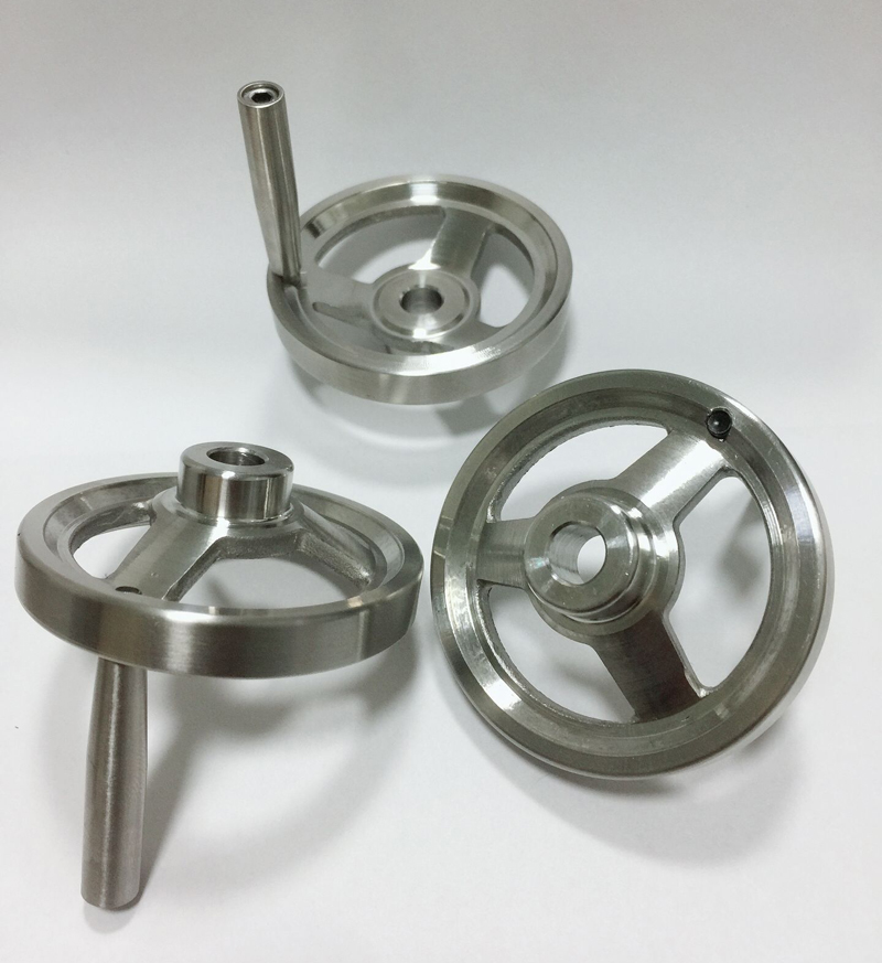60mm Diameter Hand Wheel With Revolving Handle