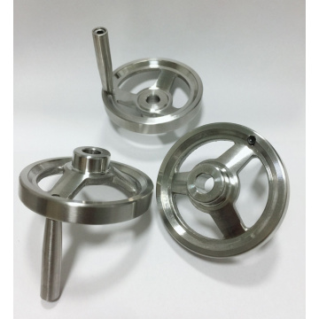 Stainless Steel Revolving Handle Hand Wheel