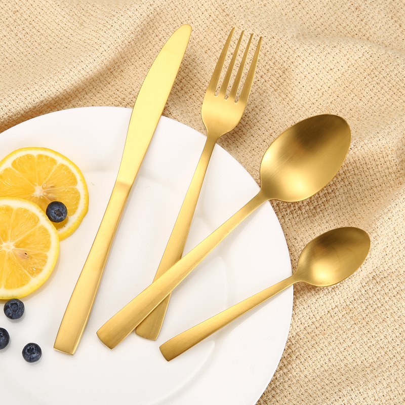 18-0 Matte Stainless Steel Flatware