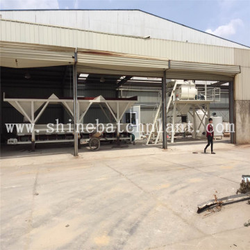 40 Compact Stationary  Concrete Mixing plants