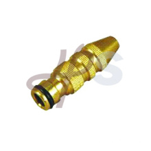 Brass Garden hose power nozzle
