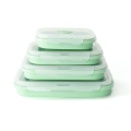 Reusable Collapsible FDA standard Silicone Lunch Bento Box