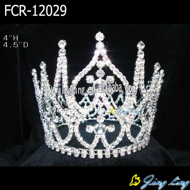 Full Round Pageant Crowns FCR-12029