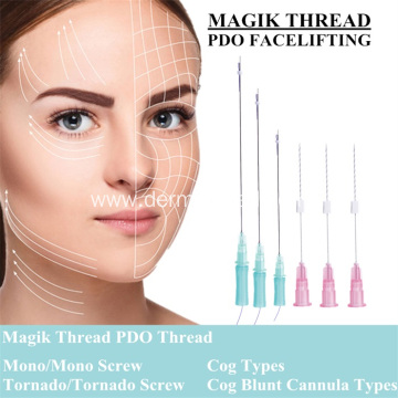 CE Certificate Medical Face Lifting PDO Thread