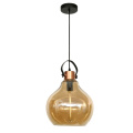simple glass Pendant Decorative Hanging Light with E27
