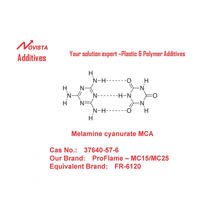 MCA melamine cyanurate 37640-57-6 for PA 6/66