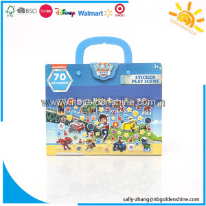 Paw Patrol Take-Along Sticker Play Scene