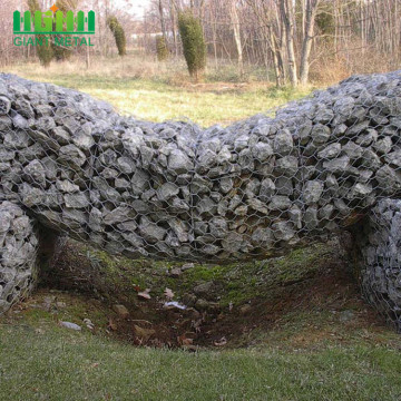 Hot Sale Hot Dipped Galvanized Wire Gabions Wall