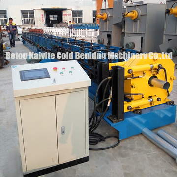 Round Downspout Pipe Roll Forming Machine