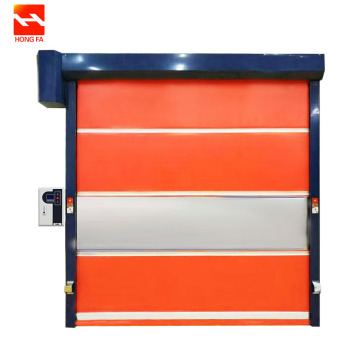 Elektrike PVC Fast Action Roll Up Door