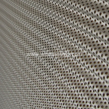 Perforated Al or Cu Corrugated Roof Panels