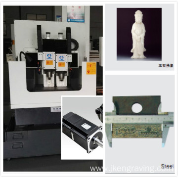 High Speed Multi-Head CNC Jade Engraving Machine