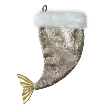 Christmas stocking with Plump Mermaid tail