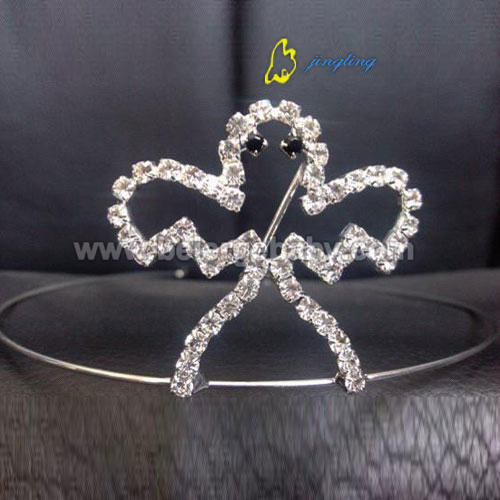 custom Christmas ghost tiara for pageant crown