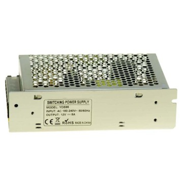 12V8A switching power supply for led cctv