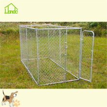 Eco-friendly outside large metal galvanized pet kennels