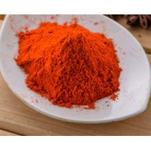 Red clean paprika powder