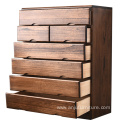 New Chinese Solid Wooden Storage Cabinets Household Multipurpose living room furniture wood Cabinet solid wood custom drawer ca