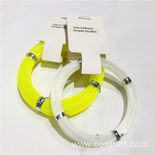 Durable Nylon Trimmer Line With Different Color