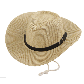 Leather Brand  Stakerope Fashion Cowboy Straw Hat