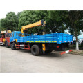 Dongfeng 8 Ton Truck Mounted Hydraulic Cranes