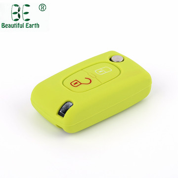 Silicone Peugeot 407 Key Cover pour voiture