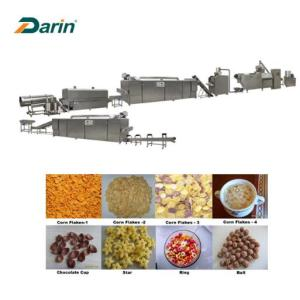 Healthy and nutritious breakfast corn flakes production line