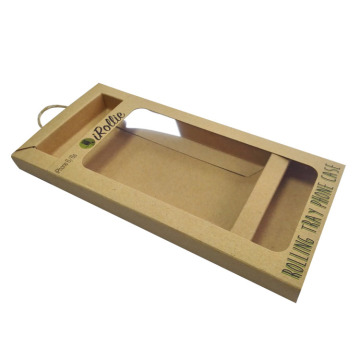 Simple Design Custom Logo Drawer Gift Kraft Box
