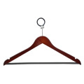 Wooden Hotel Coat Hanger Dark Brown Wood Hanger