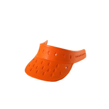Wholesale Distributors for EVA Bath Pillows orange waterproof EVA foam sun visor hats export to Japan Manufacturer