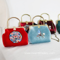 Hand Embroidered Three-piece Ladies Bag