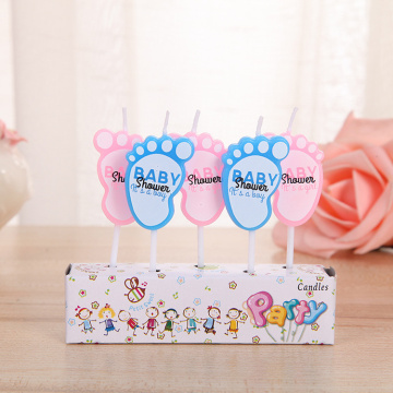 High quality colorful cartoon birthday candle for cake