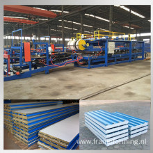 rock wool sandwich panel making machine