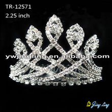 Wholesale crystal wedding crowns and tiaras
