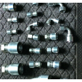 Union-one piece Hydraulic Hose Crimp Fittings connectors