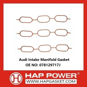 OEM manufacturer custom for Exhaust Manifold Gaskets Audi Intake Manifold Gasket 078129717J supply to Cocos (Keeling) Islands Supplier