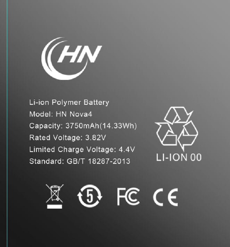 Polymer battery for Huawei