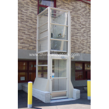 Stationary Vertical Platform Lift for Wheelchairs