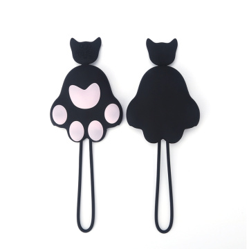 New product cat paw silicone car key cover