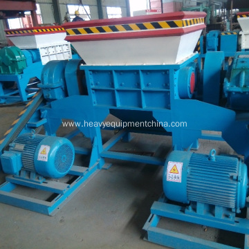 Double Shaft Shredding Machine Scrap Metal Shredder