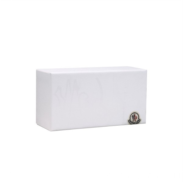 White Sun Glass Packaging Box with Fabric Label