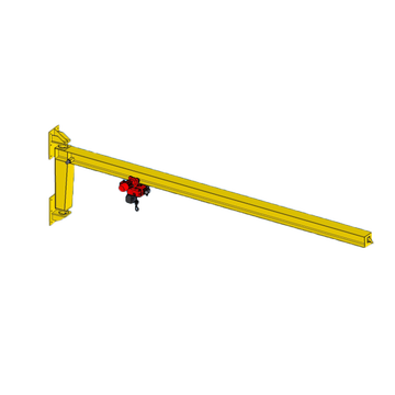 Workshop 1T Wall Mounted Jib Crane Design Drawing