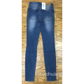 pantaloni in denim skinny da donna