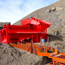 Fixed Competitive Price for Screening Machine Placer Gold Ore Washing Rotary Trommel supply to Canada Supplier