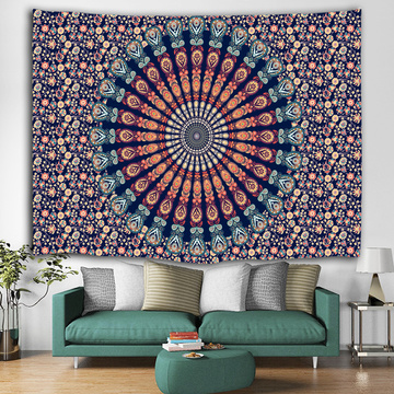 Bohemian Tapestry Mandala Wall Hanging Indian Style Boho Psychedelic Popular Tapestry for Livingroom Bedroom Home Dorm Decor