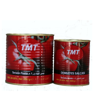 830g canned tomato paste for Turkey